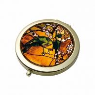Lusterko 7,5cm Papugi Tiffany 67060371 Goebel