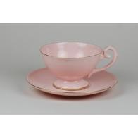 Filiżanka do kawy Prometeusz różowa porcelana A.Spała As Cmielow sklep
