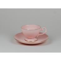 Filiżanka do espresso Prometeusz różowa porcelana A.Spała