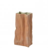 Wazon z porcelany 22cm Brązowy Paper BagRosenthal sklep 23500-203020-66022