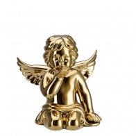 Figurka ZŁOTY Anioł dmuchający pocałunek średni 10 cm Rosenthal sklep