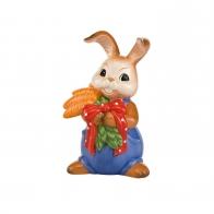 Figurka Królik z marchewkami 22cm Goebel 66842337
