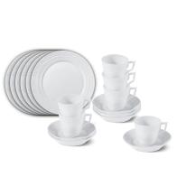 Zestaw śniadaniowy Kurland 18-elementów KPM porcelana