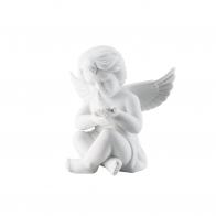 Figurka Anioł z gołębiem, średni 10 cm Rosenthal 69055-000102-90518
