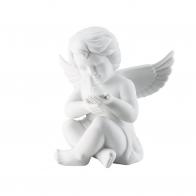 Figurka Anioł z gołębiem, duży 14 cm Rosenthal 69056-000102-90518
