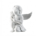 Figurka Anioł z kwiatami, duży 14 cm