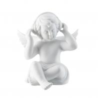 Figurka Anioł ze słuchawkami, duży 14,5 cm Rosenthal 69056-000102-90519