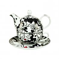 Two in One zestaw do parzenia herbaty Billy The Artist Goebel 67080081