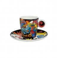 Filiżanka do espresso 0,1 l Together - Billy The Artist Goebel 67080111