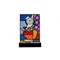 Zegar 15,5 cm Big Apple - Romero Britto Goebel 66452161