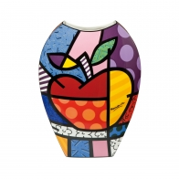 Wazon Big Apple 30cm - Romero Britto Goebel 66452051