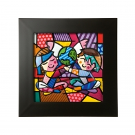 Obraz Chilldren of the World 32,5 cm - Romero Britto Goebel 66451631