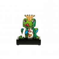 Figurka Prince żaba w koronie 14,5 cm - Romero Britto Goebel 66452101