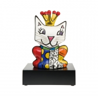 Figurka Her Royal Highness kot w koronie 22,5 cm - Romero Britto Goebel 66451941