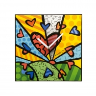 Zegar 30 x 30 cm A New Day - Romero Britto Goebel 66452041
