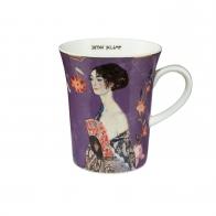 Kubek Dama z Wachlarzem 11 cm - Gustav Klimt Goebel 67011161