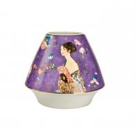 Wazon z porcelany Dama z Wachlarzem 16 cm - Gustav Klimt Goebel 66500511