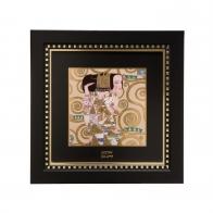 Obraz porcelanowy 25,5 x 25,5 cm Oczekiwanie Gustav Klimt Goebel 66518531