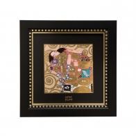 Obraz porcelanowy 25,5 x 25,5 cm Spełnienie Gustav Klimt Goebel 66518541
