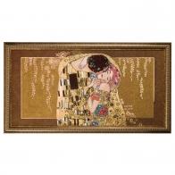 Obraz porcelanowy 110 x 60 cm Pocałunek - Gustav Klimt Goebel 66517261