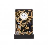 Zegar 15,5 cm Drzewo Życia - Gustav Klimt Goebel 66523041