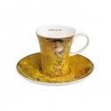 Filiżanka do espresso 8 cm Adele Bloch-Bauer - Gustav Klimt