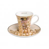 Filiżanka do espresso 8 cm Oczekiwanie - Gustav Klimt Goebel 67011621