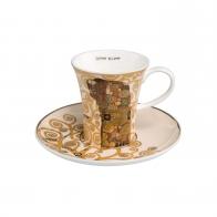 Filiżanka do espresso 8 cm Spełnienie - Gustav Klimt Goebel 67011671