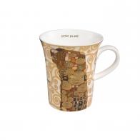 Kubek 11 cm Spełnienie - Gustav Klimt Goebel 67011261
