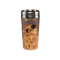 Kubek na wynos 17,5 cm Pocałunek - Gustav Klimt Goebel 67017011