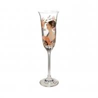 Kieliszek 24 cm Dama z Wachlarzem - Gustav Klimt Goebel 66926431