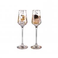 Zestaw kieliszków 20 cm - Gustav Klimt Goebel 66487411