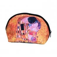 Kosmetyczka 23 x 10,5 cm Pocałunek - Gustav Klimt Goebel 67060071