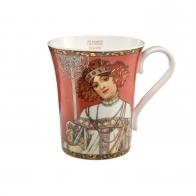 Kubek 0,4 l Jesień 1900 - Alfons Mucha Goebel 67011121
