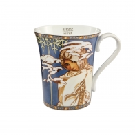 Kubek 0,4 l Zima 1900 - Alfons Mucha Goebel 67011131