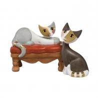 Figurka 8,5 cm Koty szukające cichego miejsca - Rosina Wachtmeister Goebel 31400351