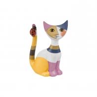 Figurka 8 cm Kot z biedronką - Rosina Wachtmeister Goebel 31140021