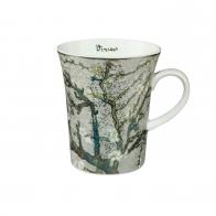 Kubek 11 cm - Drzewo Migdałowe Srebrne - Vincent van Gogh Goebel 67011071