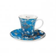 Filiżanka do espresso 8 cm - Drzewo Migdałowe - Vincent van Gogh Goebel 67021201