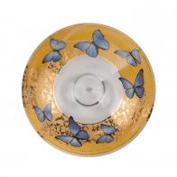 Miska 35,5 cm - Niebieskie Motyle Joanna Charlotte Goebel 26150621