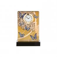 Zegar 15,5 cm - Niebieskie Motyle Joanna Charlotte Goebel 26150631