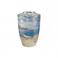 Wazon porcelanowy 24 cm - Ścieżka przez kukurydzę - Claude Monet Goebel 66539441