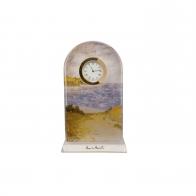 Zegar kryształowy 18,5 cm Ścieżka przez kukurydzę - Claude Monet Goebel 66523351