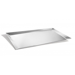 Taca Alice srebrna 51 x 36 cm - Odile Decq