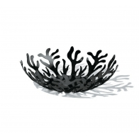 Misa na owoce Mediterraneo 29 cm czarna - Emma Silvestris Alessi Kolekcja ESI01/29 B