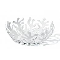 Misa na owoce Mediterraneo 21 cm biała - Emma Silvestris Alessi Kolekcja ESI01/21 W