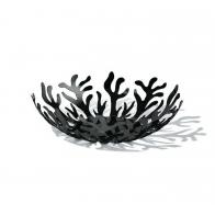 Misa na owoce Mediterraneo 25 cm czarna - Emma Silvestris Alessi Kolekcja ESI01/25 B