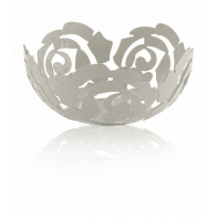 Misa na owoce La Rosa 21 cm biała - Emma Silvestris Alessi Kolekcja ESI15/21 W