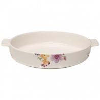 Okrągłe naczynie do zapiekania 28 cm Mariefleur Basic naczynia do zapiekania Villeroy & Boch 10-4163-3262
