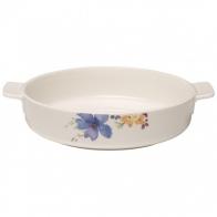Okrągłe naczynie do zapiekania 24 cm Mariefleur Basic naczynia do zapiekania Villeroy & Boch 10-4163-3263